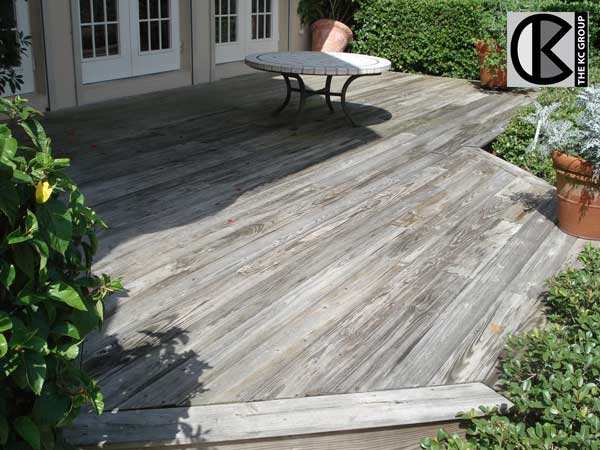 timber deck cleaning services