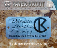 driveways of distinction stainless steel plaque