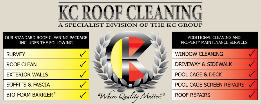 Window Cleaning Roof Repairs bradenton florida The KC Group