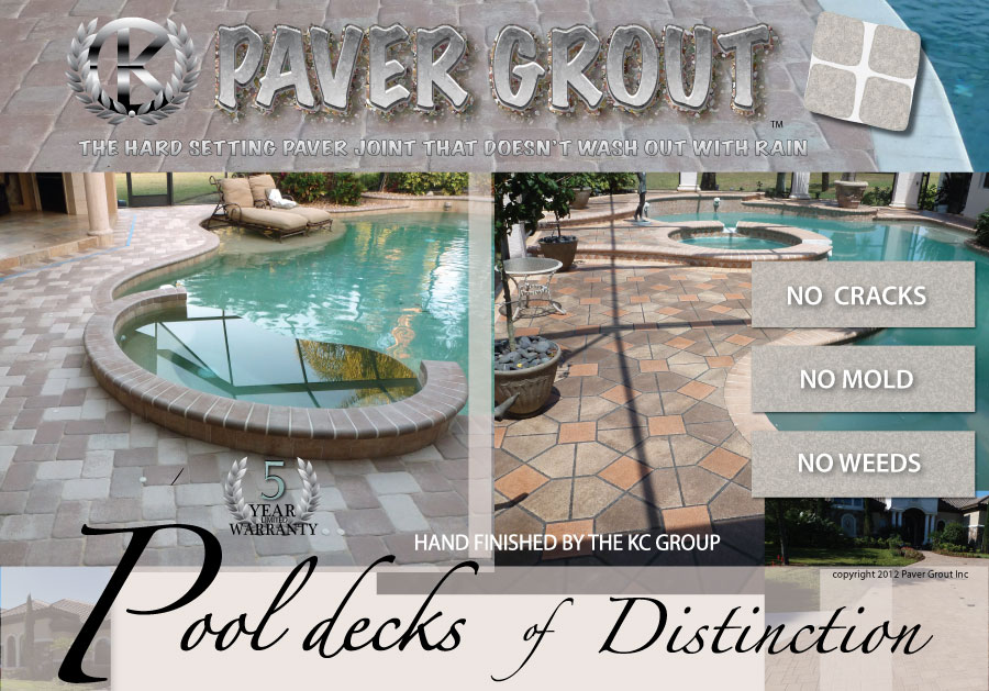 paver grouting and sealing