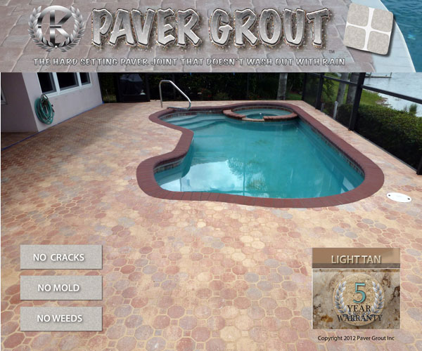 paver pooldeck grouting lakewood ranch