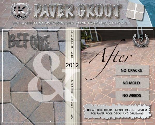paver driveway grouting