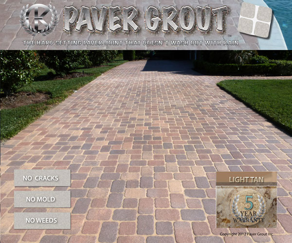 paver grouted driveway sarasota