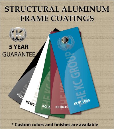 structural frame coatings