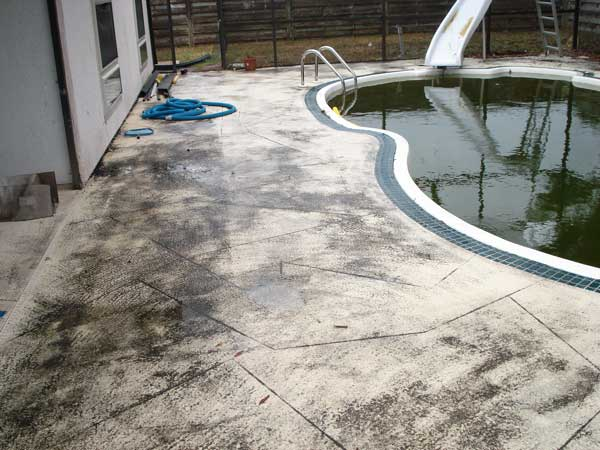 pool deck stains sarasota