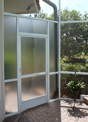 Pool Privacy Screen kc screening mobile door window and pool cage screen repair