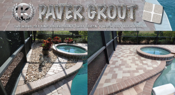 laying thin pavers over concrete pool decks