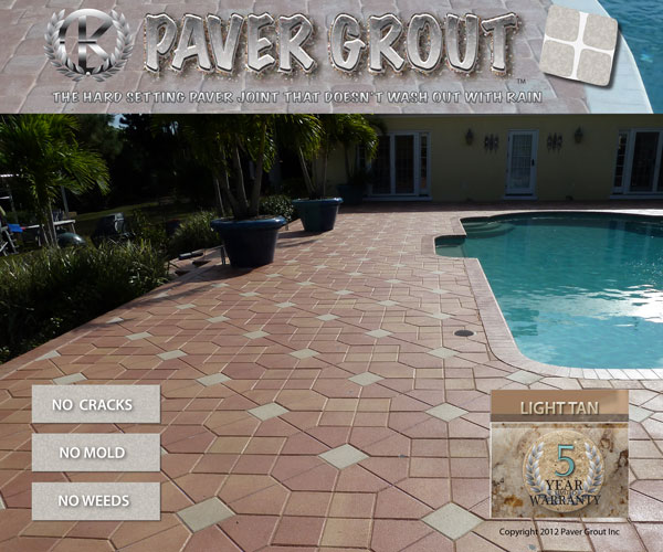 Paver Pool Deck Grouting And Sealing In The River Club Bradenton Florida